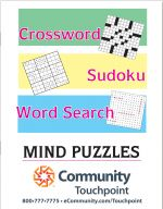 Large Print Puzzle Book (Crossword, Word Search and Sudoku)