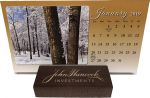 Double Up Personalized In the Image Calendar