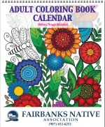 Adult Coloring Book Calendar