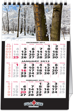 Personalized Name Desk Calendars (Picture Name Calendar)